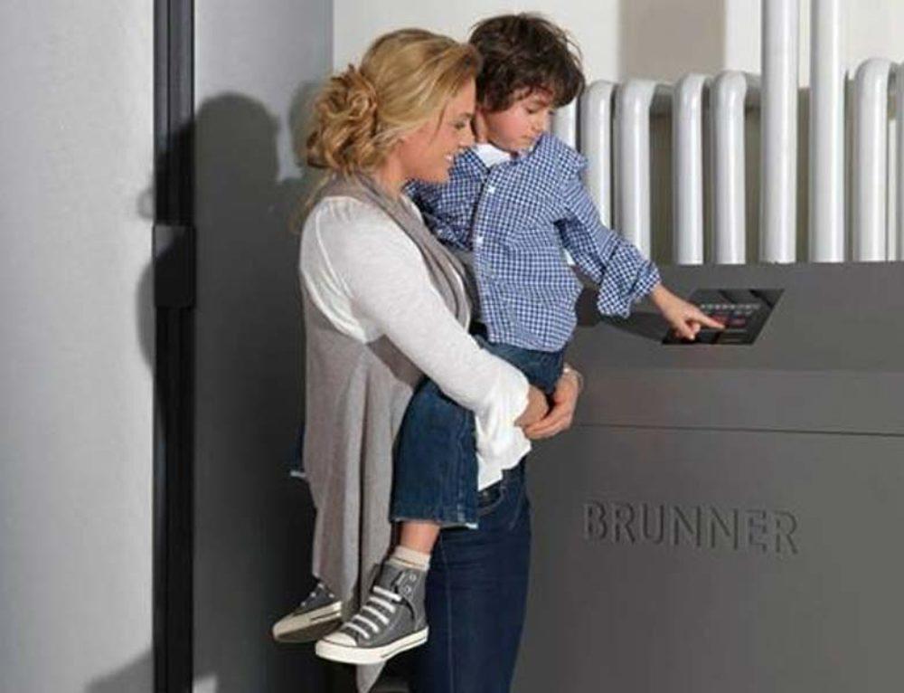 Λέβητα ξύλου Brunner
